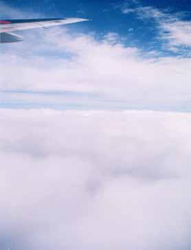上空の風景