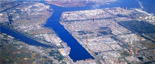 鹿島港(空撮)