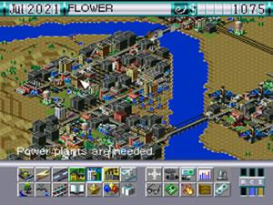 「SIM CITY 2000」